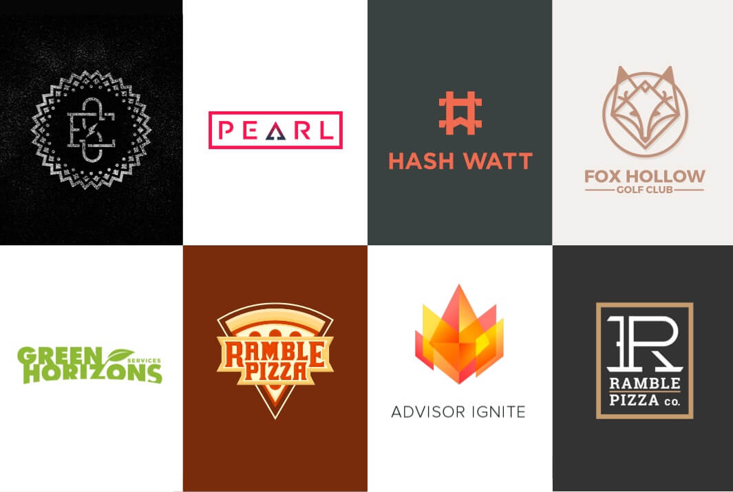 Assorted Logo and Identity Designs