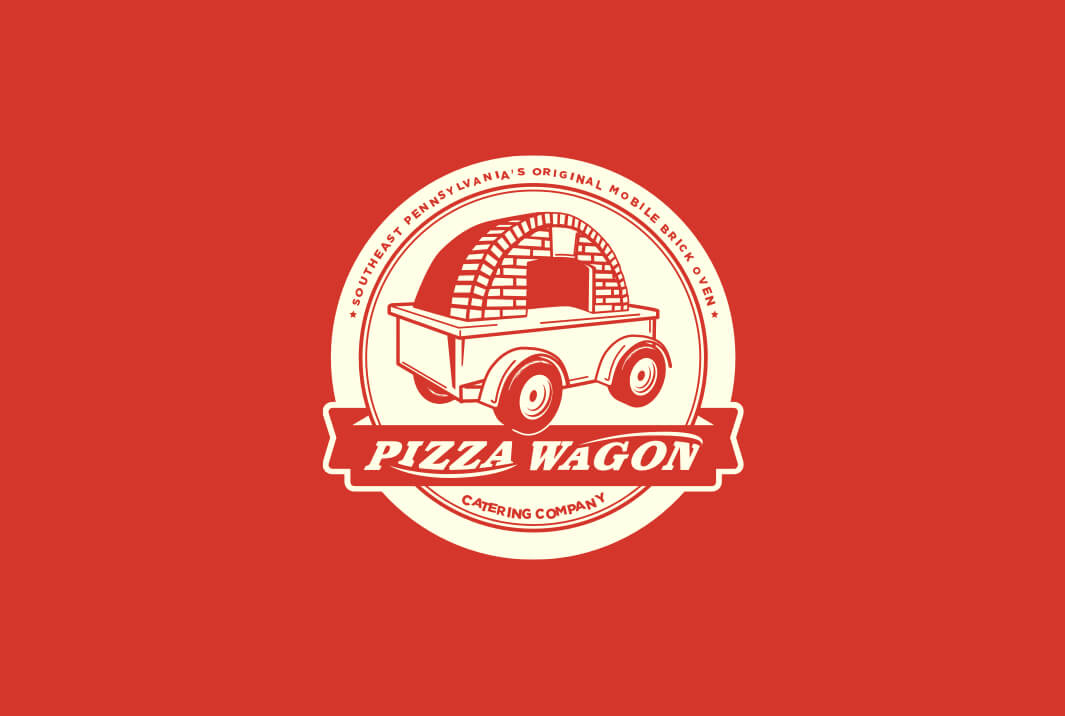 The Pizza Wagon Logo